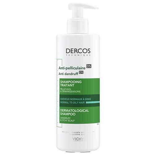 Vichy Dercos DS Шампунь против перхоти для нормальных и жирных волос