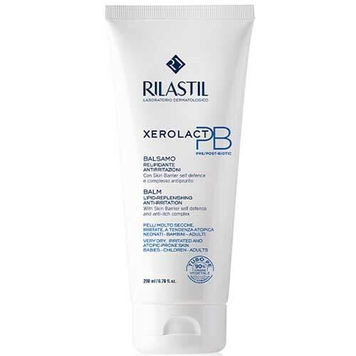 Rilastil Xerolact PB Бальзам липидовосстанавливающий для лица и тела против раздражения