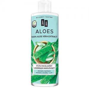 AA Aloes Успокаивающая и увлажняющая мицеллярная вода