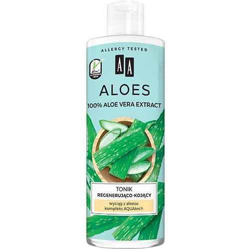 AA Aloes Регенерирующий и успокаивающий тоник, 400 мл