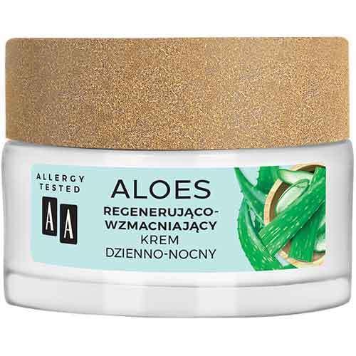 AA Aloes Крем для лица День-ночь регенерирующе-укрепляющий