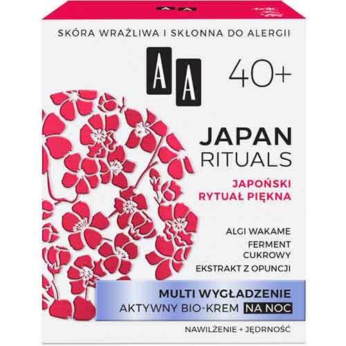 AA Japan Rituals 40+ Активный био-крем ночной Мульти разглаживание