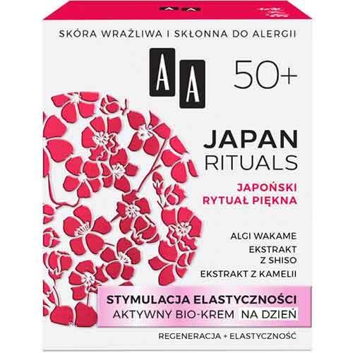 AA Japan Rituals 50+ Активный био-крем дневной Стимуляция эластичности