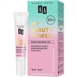 AA My Beauty Power Осветляющий гель-концентрат для кожи вокруг глаз