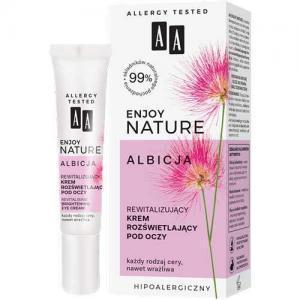 AA Enjoy Nature Albicja Ревитализирующий осветляющий крем для кожи вокруг глаз