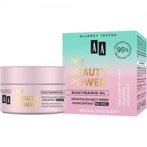 AA My Beauty Power Ревитализирующий крем-концентрат ночной