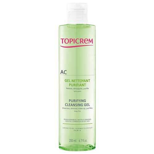 Топикрем АК Гель очищающий оздоравливающий, 200 мл (Topicrem AC)