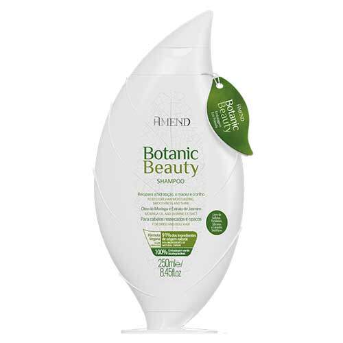 Amend Органический Anti Age шампунь для волос с экстрактом Жасмина и маслом Моринги Botanic Beauty