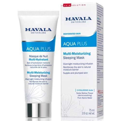Mavala Активно Увлажняющий Ночная Маска Aqua Plus