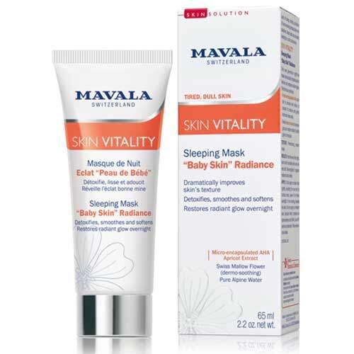 Mavala Ночная Маска для сияния кожи Skin Vitality