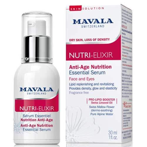 Mavala Антивозрастная сыворотка-бустер для лица и области вокруг глаз Nutri-Elixir