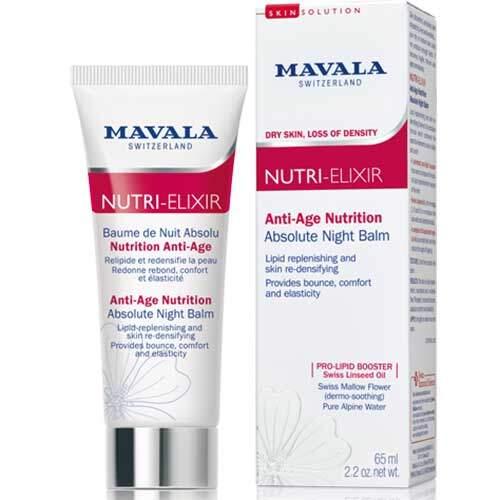 Mavala Антивозрастной ночной бальзам-бустер для лица и области вокруг глаз Nutri-Elixir