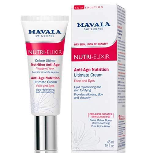 Mavala Антивозрастной крем-бустер для лица и области вокруг глаз Nutri-Elixir