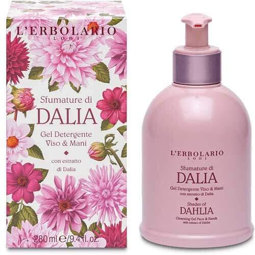 """L'Erbolario """"Sfumature di Dalia"""" Очищающий гель для рук и лица, 280 мл"""