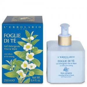 """L'Erbolario """"Foglie di Tè"""" Очищающий гель для лица и рук"""