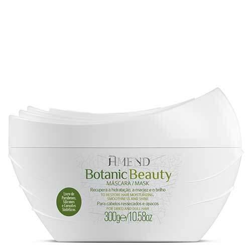 Amend Органическая Anti Age маска для волос с экстрактом Жасмина и маслом Моринги Botanic Beauty
