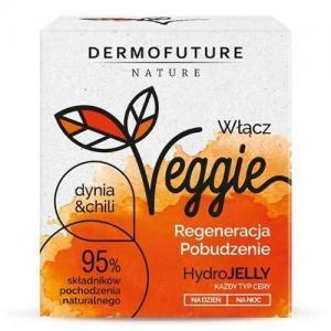 DermoFuture Стимулирующий регенерирующий гидрогель для всех типов кожи Тыква и чили Nature Veggie