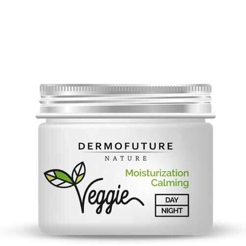 DermoFuture Увлажняющий успокаивающий гидрогель для сухой кожи Капуста и фенхель Nature Veggie
