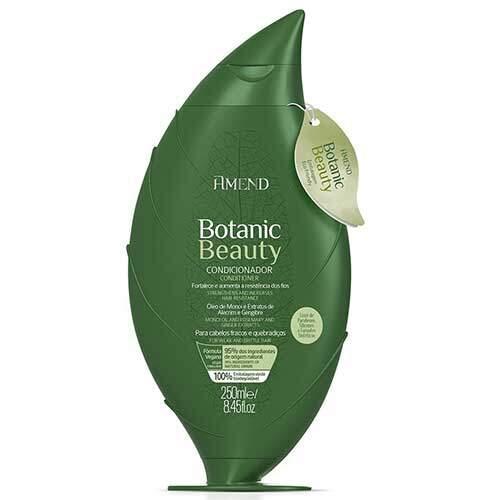Amend Органический кондиционер для активного укрепления волос с экстрактами Розмарина и Имбиря Botanic Beauty