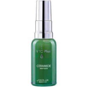 V10 Plus Успокаивающая сыворотка для чувствительной кожи лица с Керамидами Ceramide Serum
